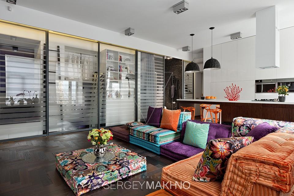 Невероятные дизайны однокомнатных квартир