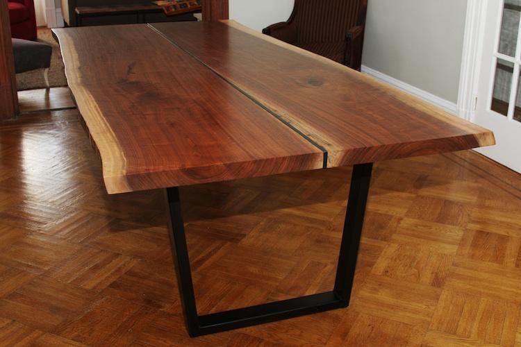 Столешница из дерева для стола