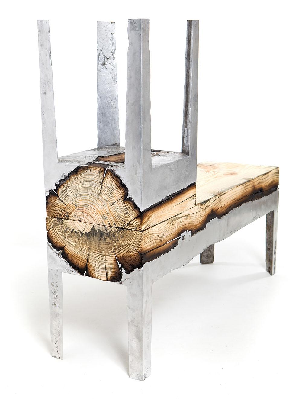 Дерево под металл своими руками 29