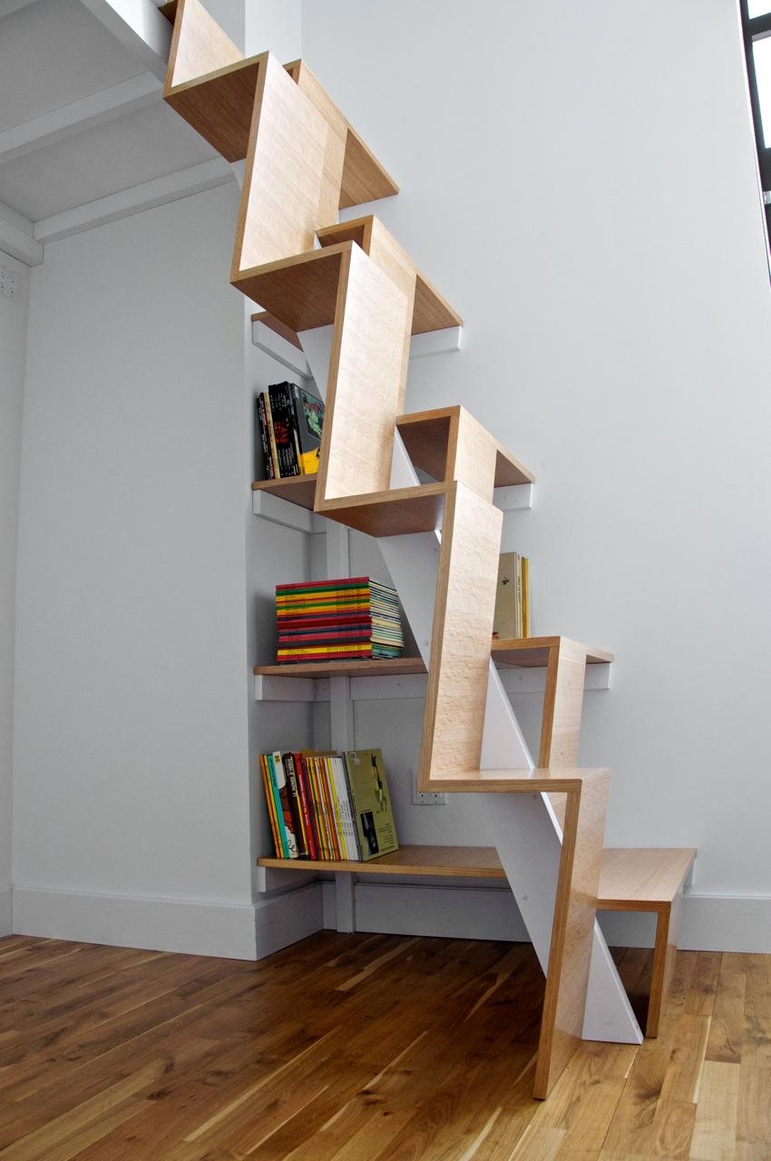 Как сделать оригинальную лестницу своими руками