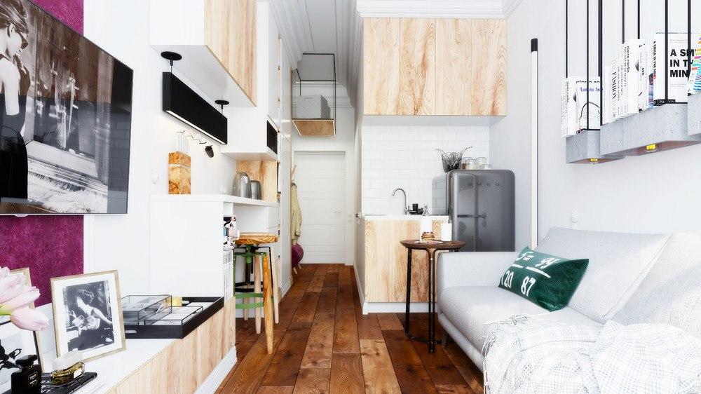 Квартира 12 кв м дизайн