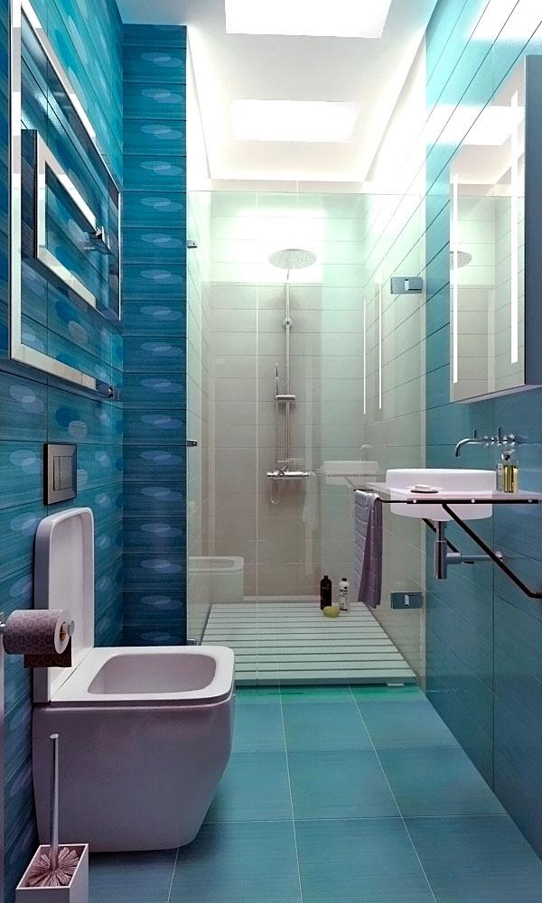 Дизайн ванной комнаты пластиковыми панелями дизайн 2017-2018