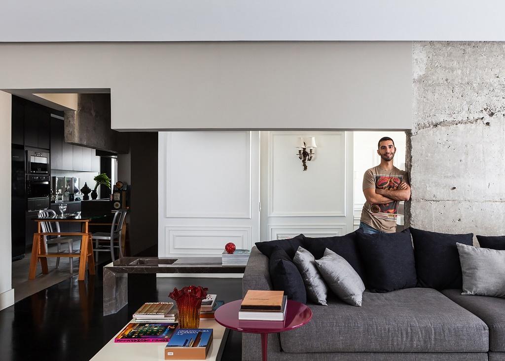 Мужской дизайн квартиры 148