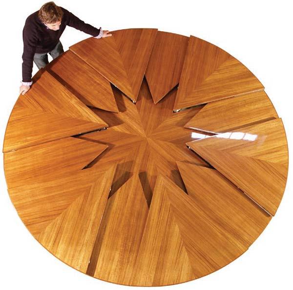 Сделать круглый стол трансформер своими руками