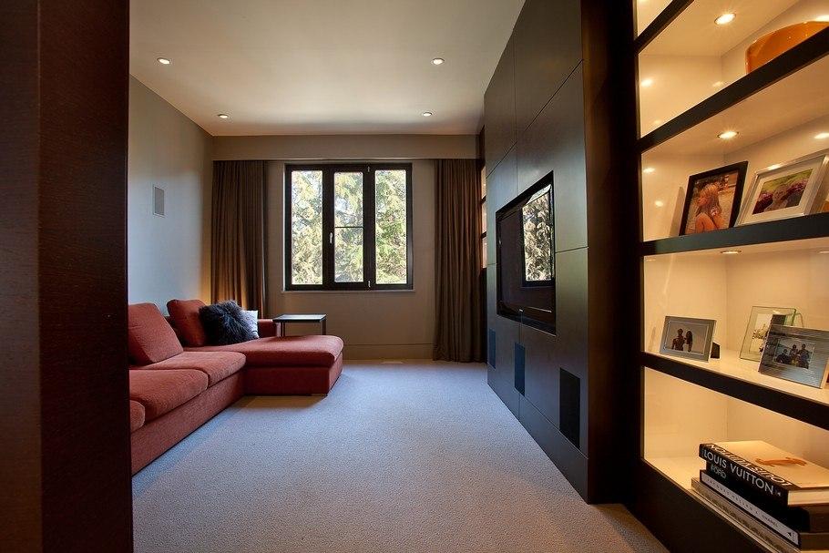 Гостиная шале 18 квадратов дизайн