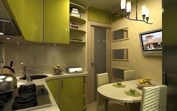 Дизайн кухни 6 кв м новинки 2017 хрущевка для 4 человек