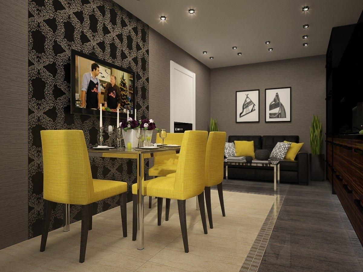 Кухня-гостиная 32 кв.м дизайн