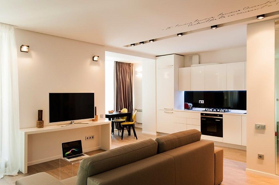 дизайн 1 комнатной квартиры одесса