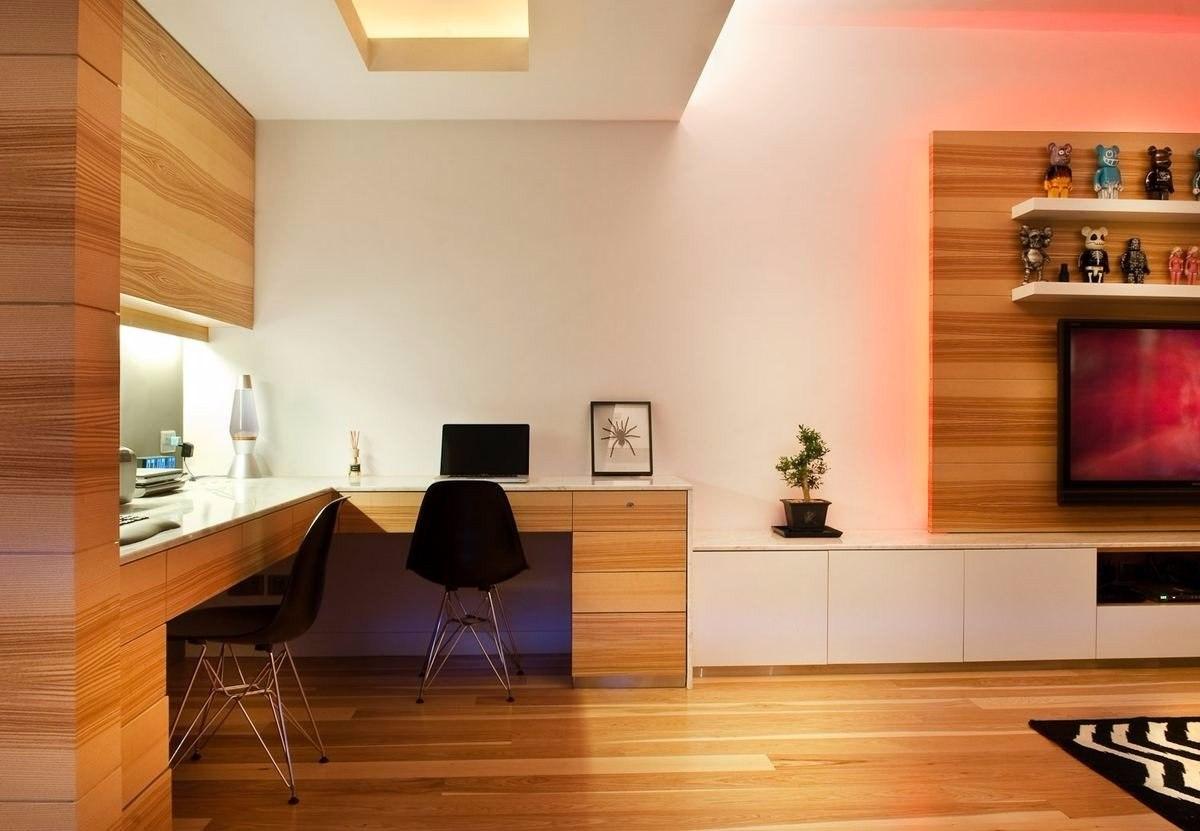 Отделка деревянными панелями дизайн