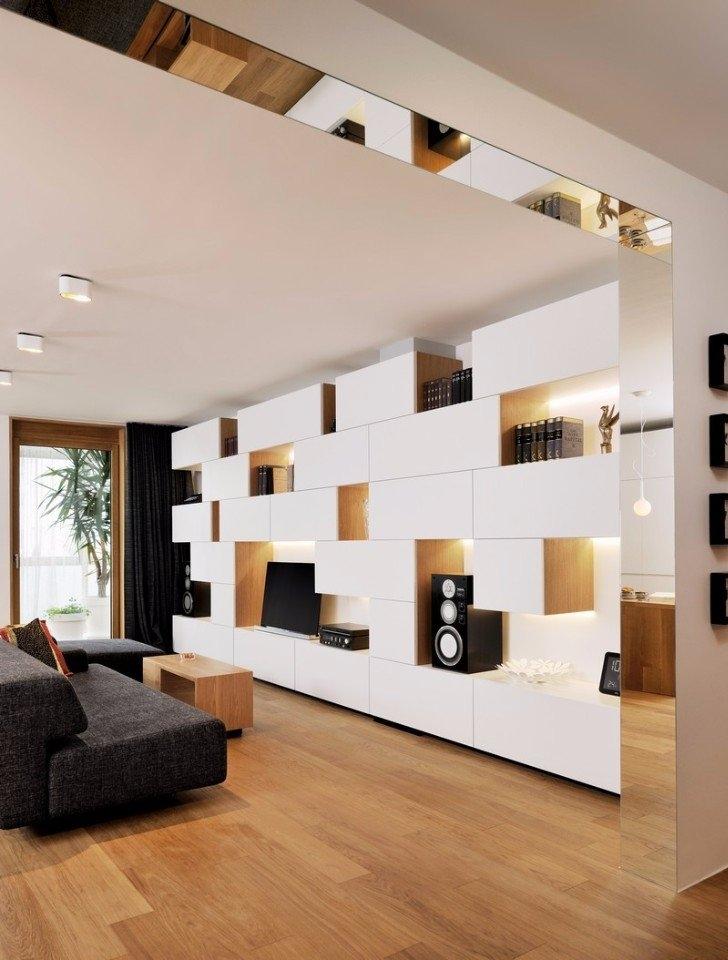 Дизайн для студии 22 кв. м