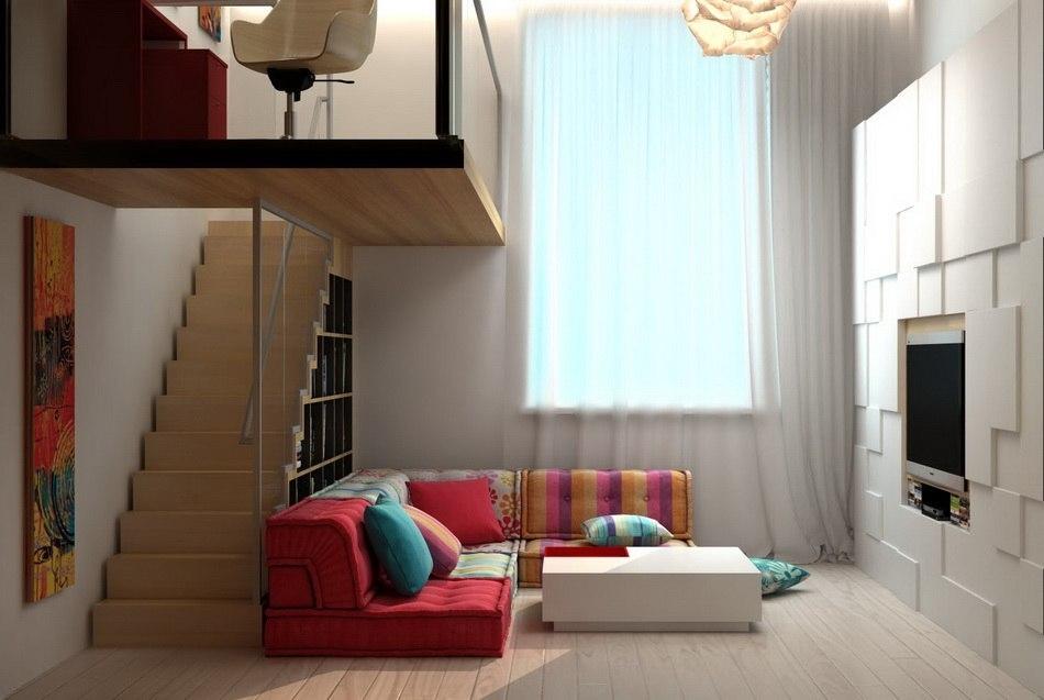 Квартира 16 кв дизайн