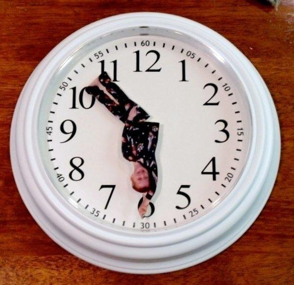 Креативные часы своими руками 668