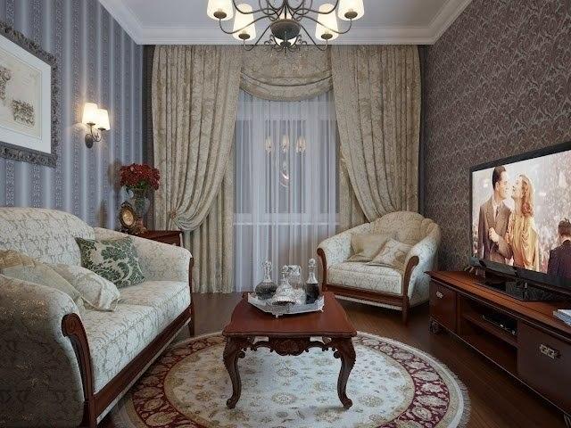 Интерьер гостиной частного дома фото своими руками