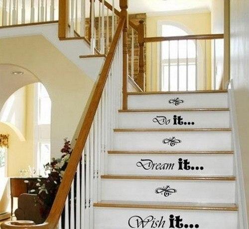Лестница для декора своими руками