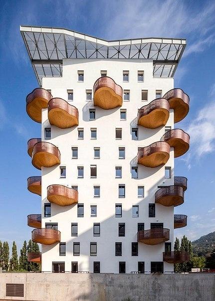 Необычные балконы со всего света - Дизайн интерьеров Идеи вашего дома Lodgers