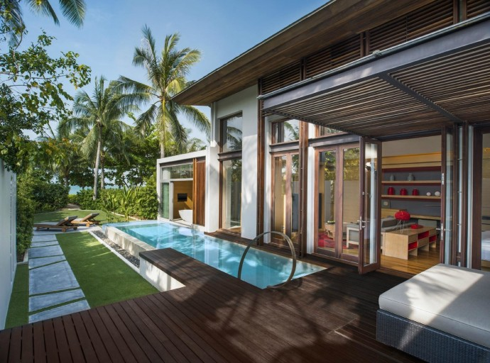 Отель W Retreat Koh Samui на курорте Маенам, Таиланд 10