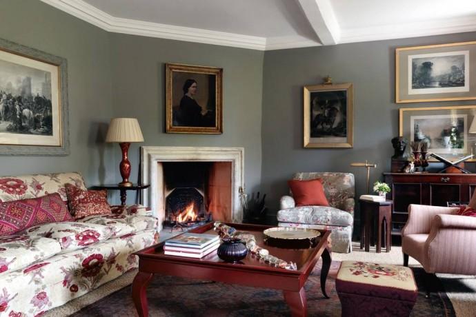 Дом британского дизайнера Эммы Бернс в Оксфордшире