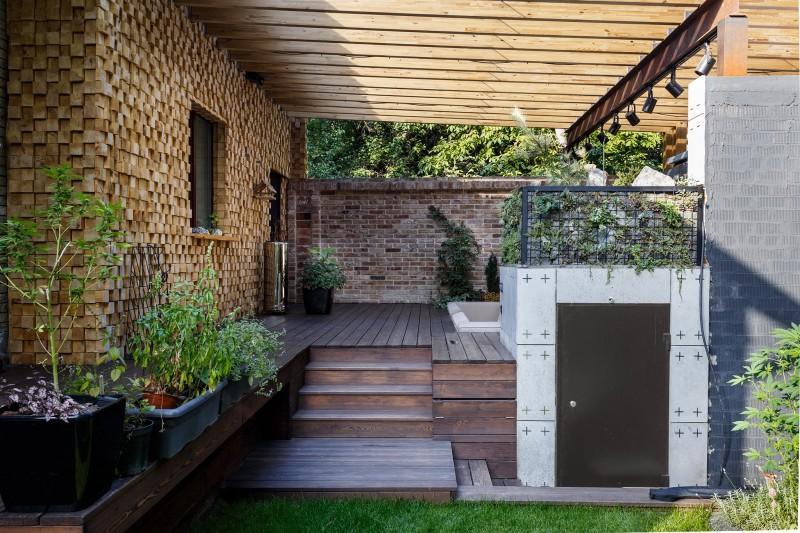 классификаторы фото веранд дома совмещенных с уличным забором четырех таких