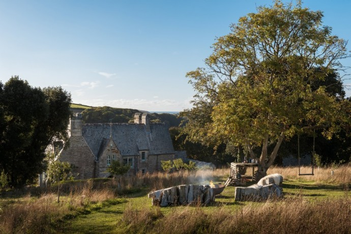 Загородный дом в деревне Сент-Муган, Корнуолл, Великобритания