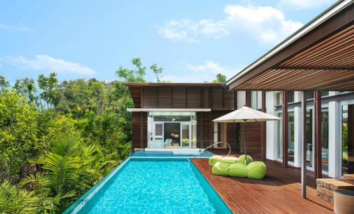 Отель W Retreat Koh Samui на курорте Маенам, Таиланд 9